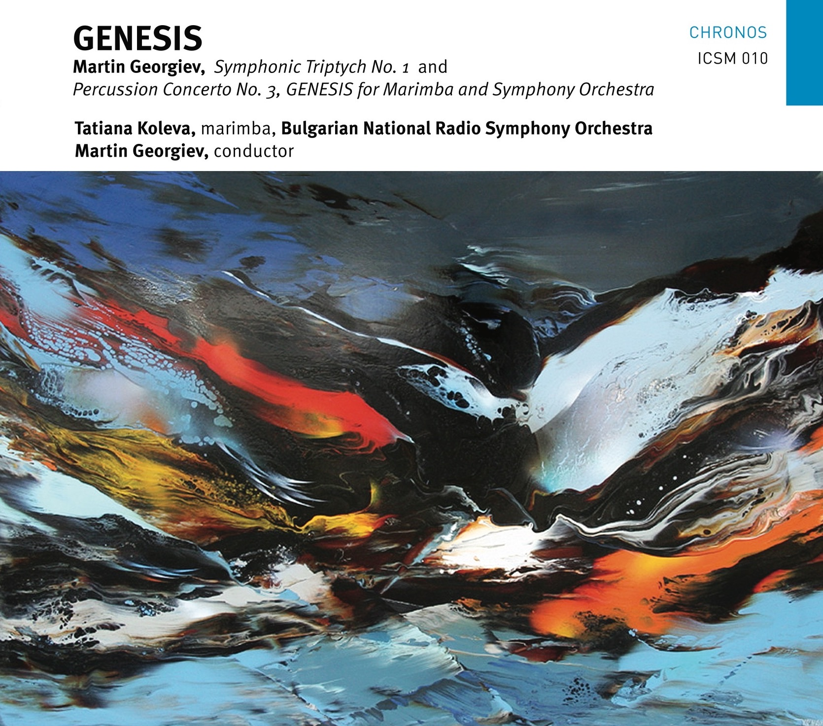 Martin Georgiev GENESIS CD