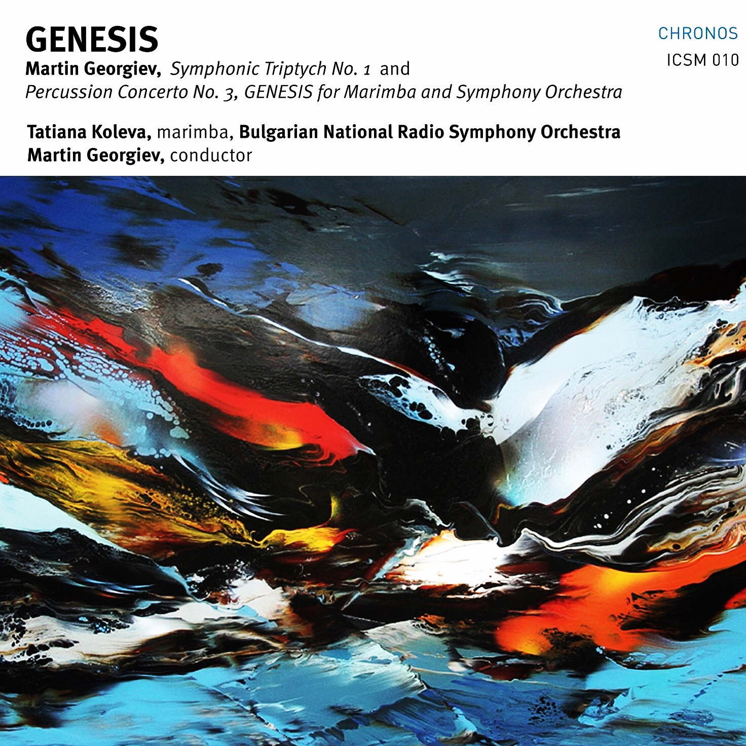 Martin Georgiev GENESIS ICSM Records London